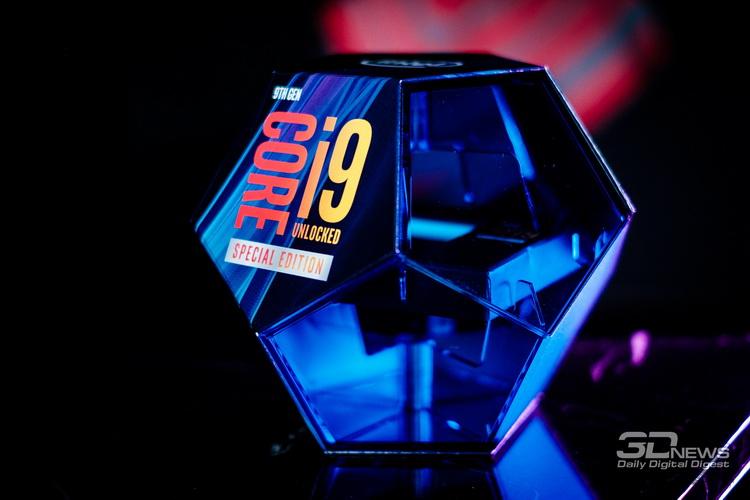 Упаковка процессора Intel Core i9-9900KS
