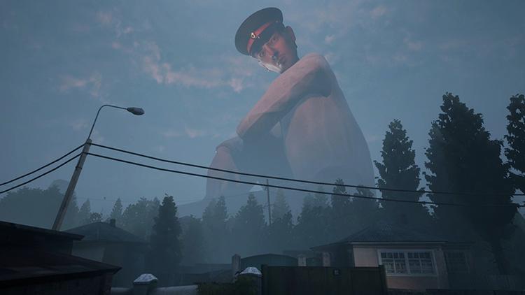Побег от милиционера-гиганта — 2 минуты игрового процесса отечественной Militsioner