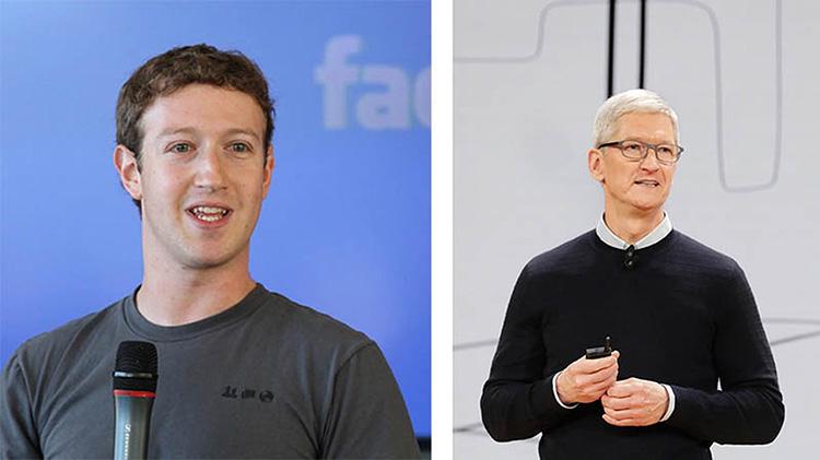 Марк Цукерберг якобы поставил перед Facebook задачу «причинить боль» Apple из-за новых правил конфиденциальности