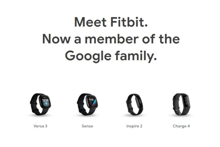 Google начала продавать фитнес-браслеты и умные часы Fitbit в Google Store