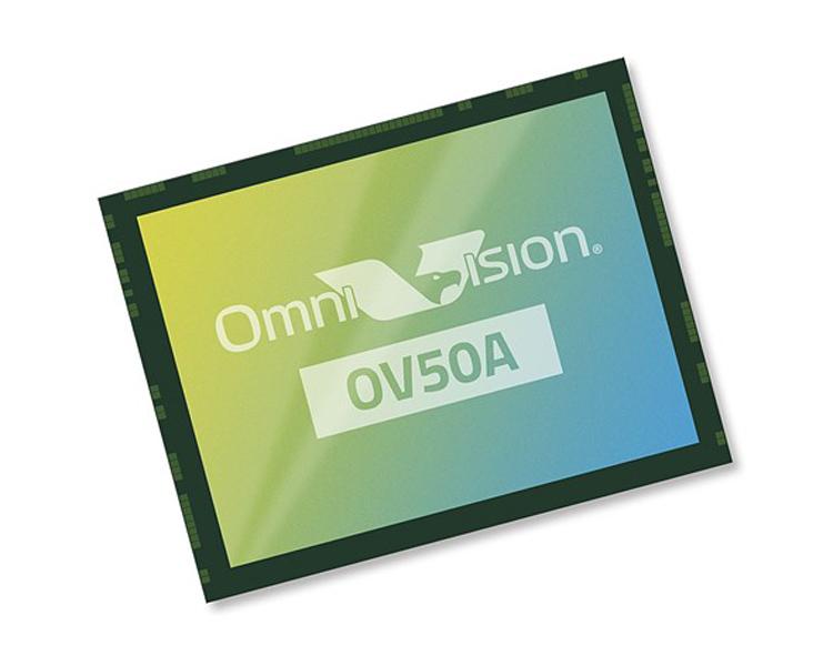 Представлен 50-Мп датчик изображений OmniVision OV50A для камер флагманских смартфонов