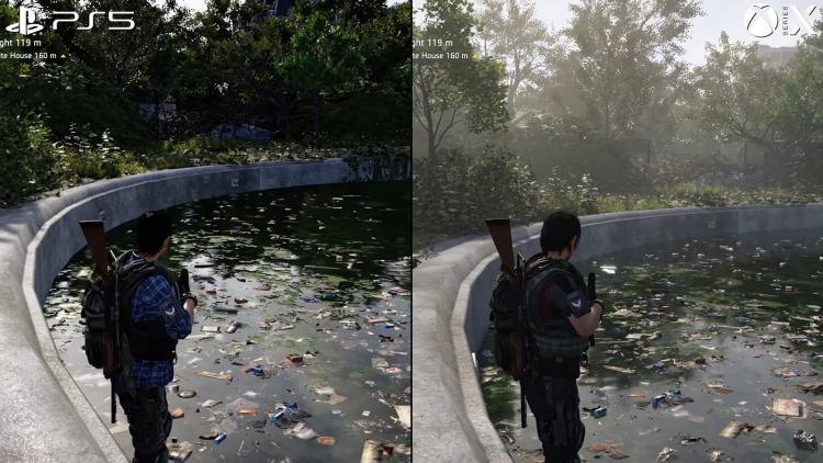 Сравнение The Division 2 на PS5 и Xbox Series X до патча 1.31