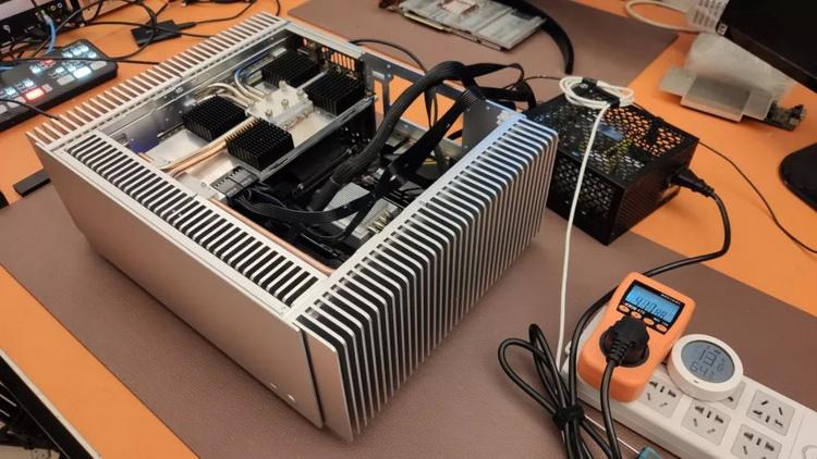 """GeForce RTX 3080 попытались охладить пассивно. Вышло дорого и неэффективно"""""""