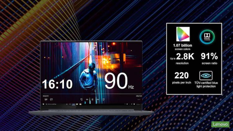 """Lenovo представила в России новые ноутбуки IdeaPad и Yoga с экранами16:10 и высокой автономностью"""""""