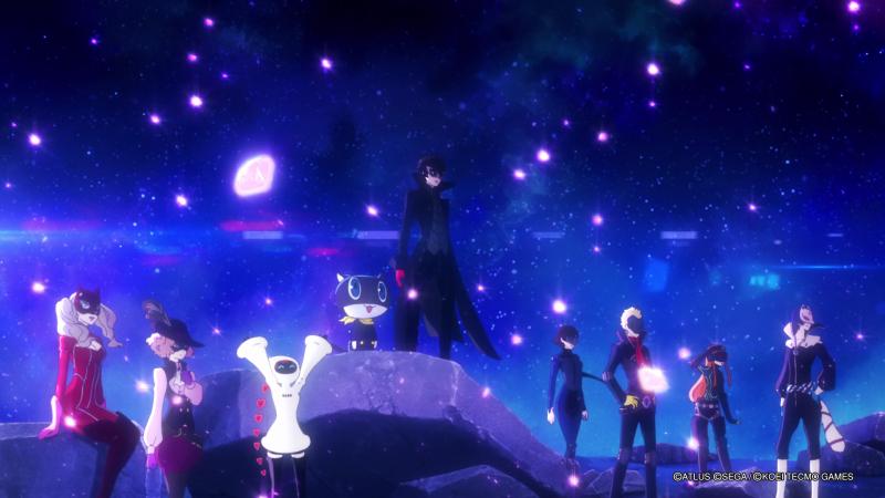 Аниме-сцены исполнены искусно и необычайно красочно