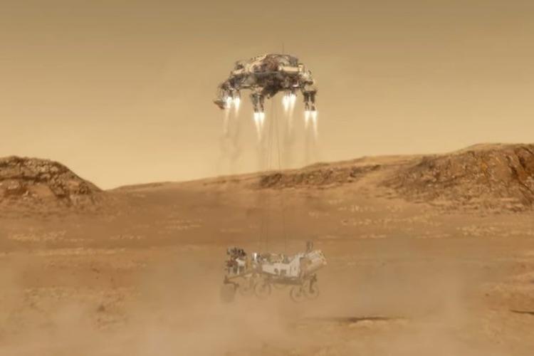 """Сегодня ночью марсоход Perseverance окажется на поверхности Марса"""""""