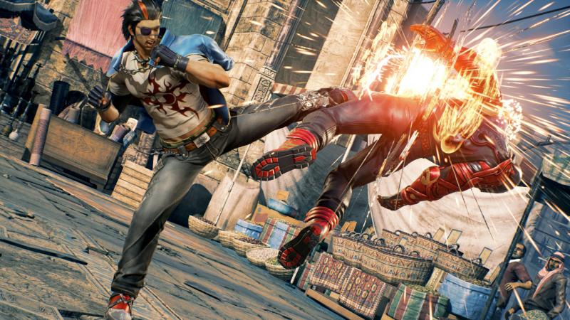 «Джагглинг» (комбинации с жонглированием тушкой противника) обычно ассоциируется с Tekken