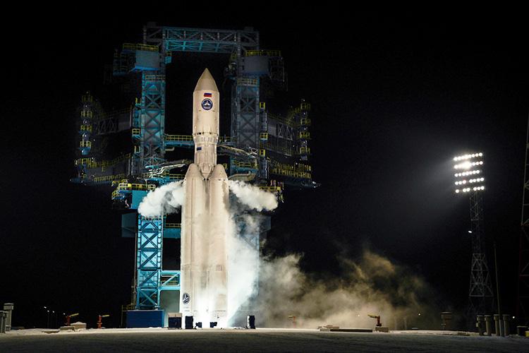 Испытательный пуск «Ангары-А5» с космодрома Плесецк 14 декабря 2020 года