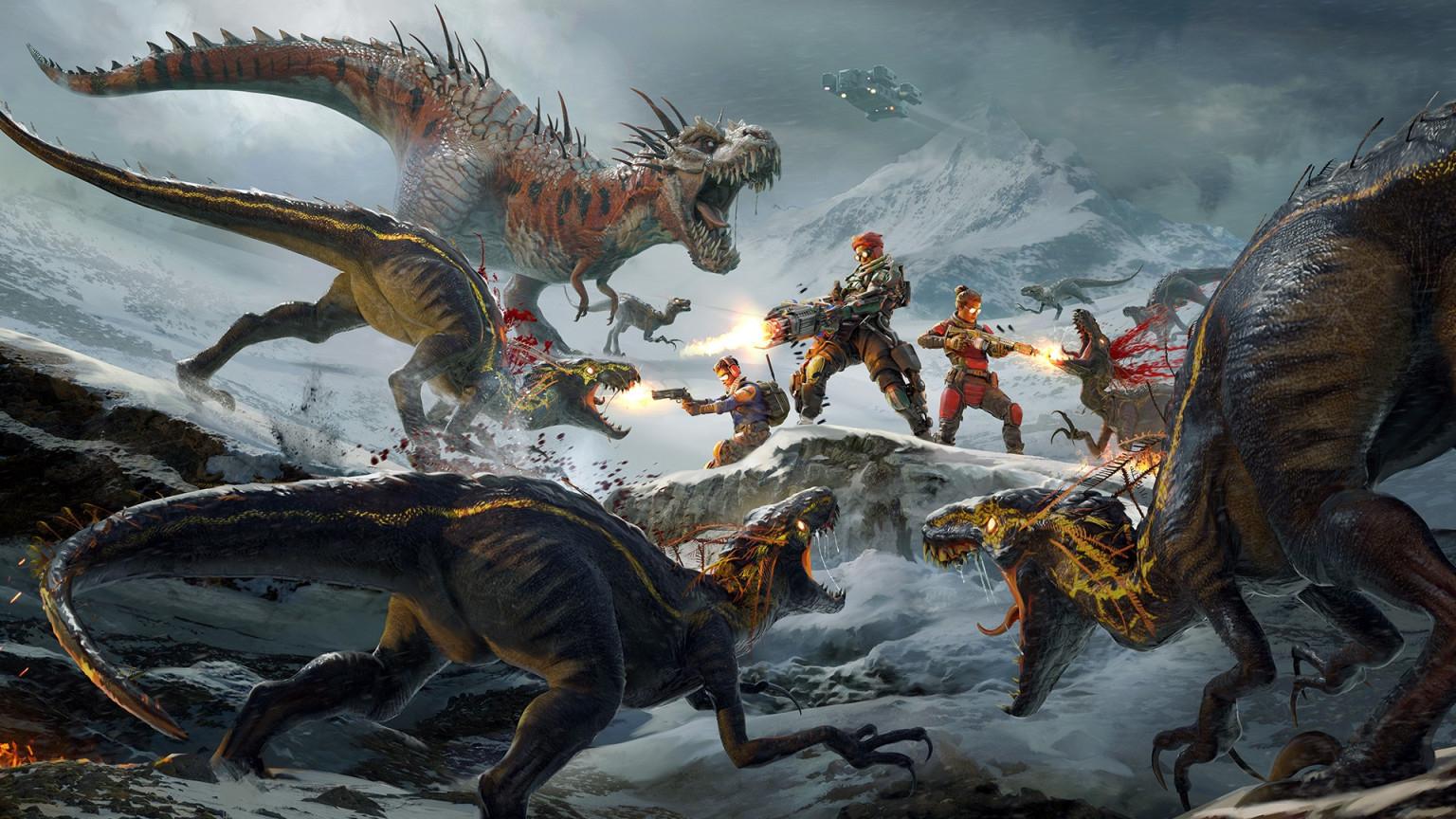 Шутер Second Extinction про войну с динозаврами-мутантами доберётся до консолей Xbox ближайшей весной