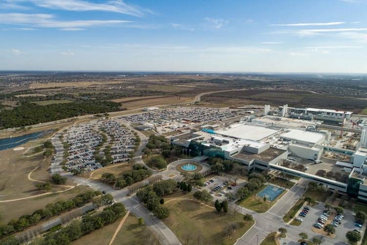 Завода компании Samsung в Остине, штат Техас