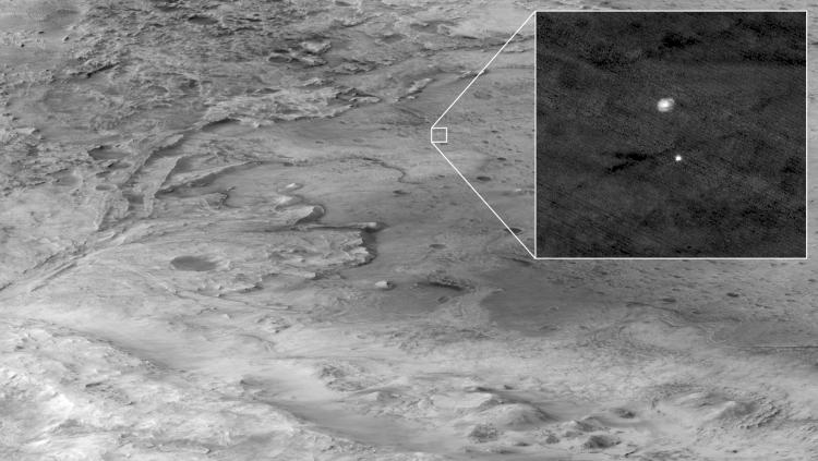 """МарсоходPerseverance прислал первые цветные фото с Марса"""""""