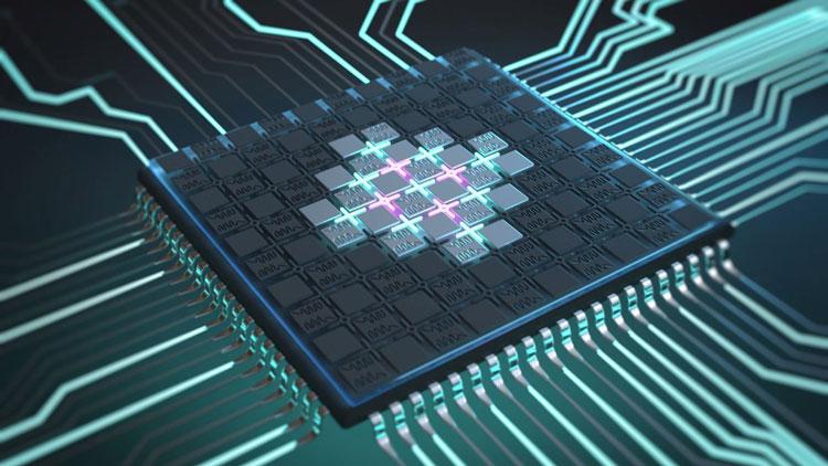 Визуализация «немецкого» квантового процессора на сверхпрводящих кубитах. Источник изображения: Christoph Hohmann