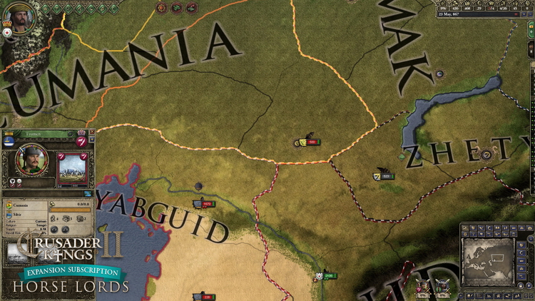 Paradox запустила подписку на дополнения к Crusader Kings II