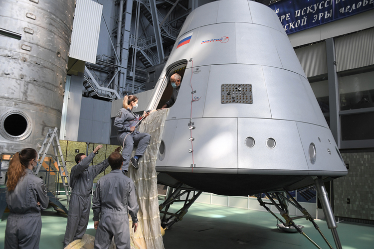 """В текущем году начнётся отработка парашютной системы корабля «Орёл»"""""""