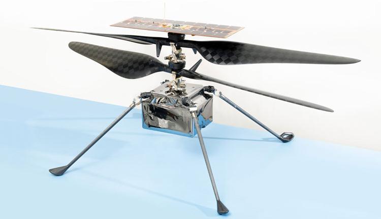 """Марсианский вертолет Ingenuity сообщил на Землю, что у него всё хорошо"""""""