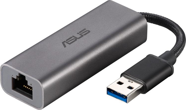 Адаптер ASUS USB-C2500 наделит любой компьютер поддержкой 2.5GbE
