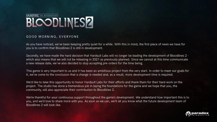 Полный текст обращения Paradox Interactive