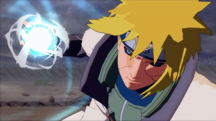Minato in the game Naruto Shippuden: Ultimate Ninja Storm Revolution