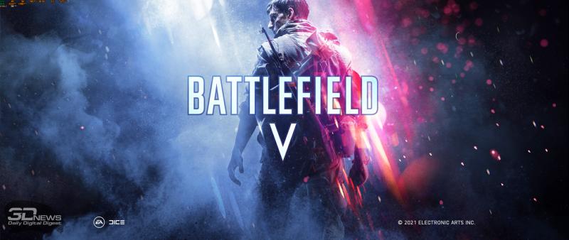 Заставка в Battlefield V