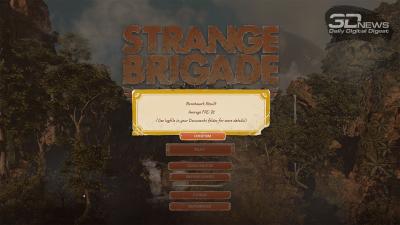 Strange Brigade 4K (72/51 FPS)