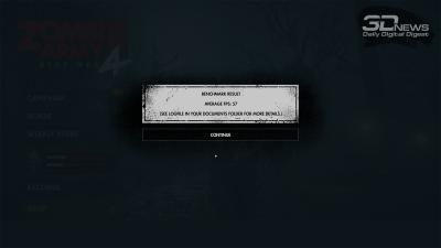 Zombie Army 4: Dead War 4K (57/27 FPS)