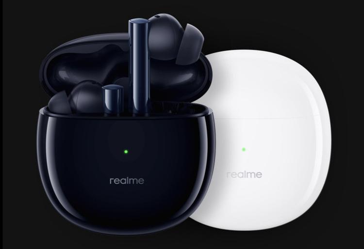 Представлены беспроводные наушники Realme Buds Air 2 с шумоподавлением и Bluetooth 5.2 по цене $45