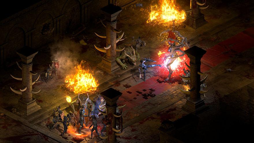 Блогер сравнил Diablo II: Resurrected с Diablo II  местами ремастер ощущается более мрачным