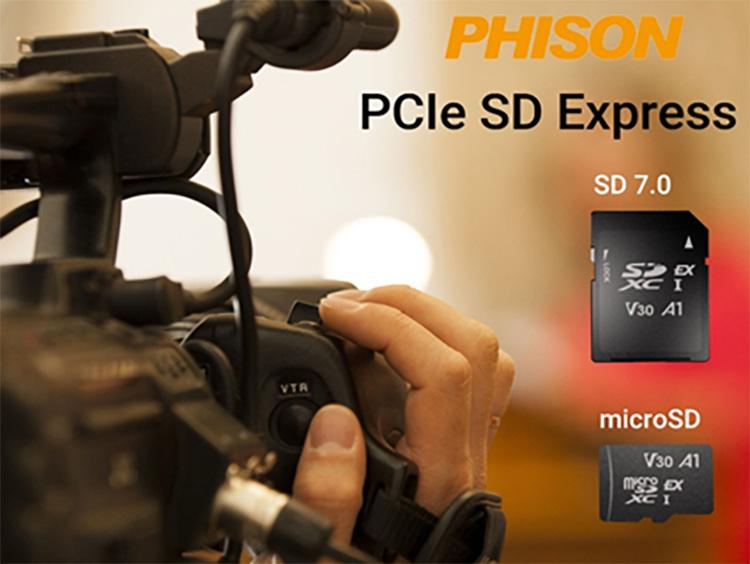 В марте выйдут сверхбыстрые карты памяти SD Express  очень маленький SSD с интерфейсом PCIe