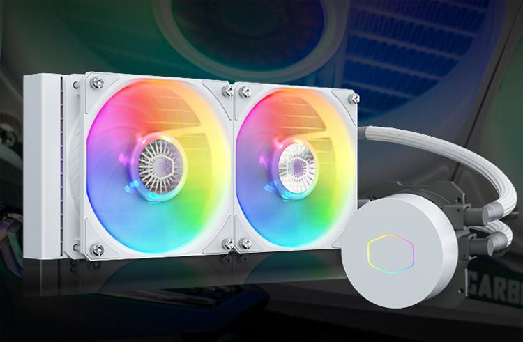 Cooler представила СЖО Master MasterLiquid ML360L/ML240L V2 ARGB в белом цвете