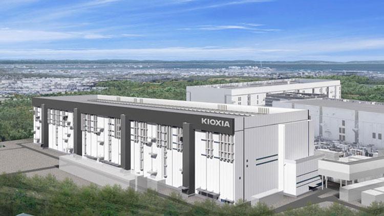 Завод Fab7 компании Kioxia в представлении художника. Источник изображения: Kioxia