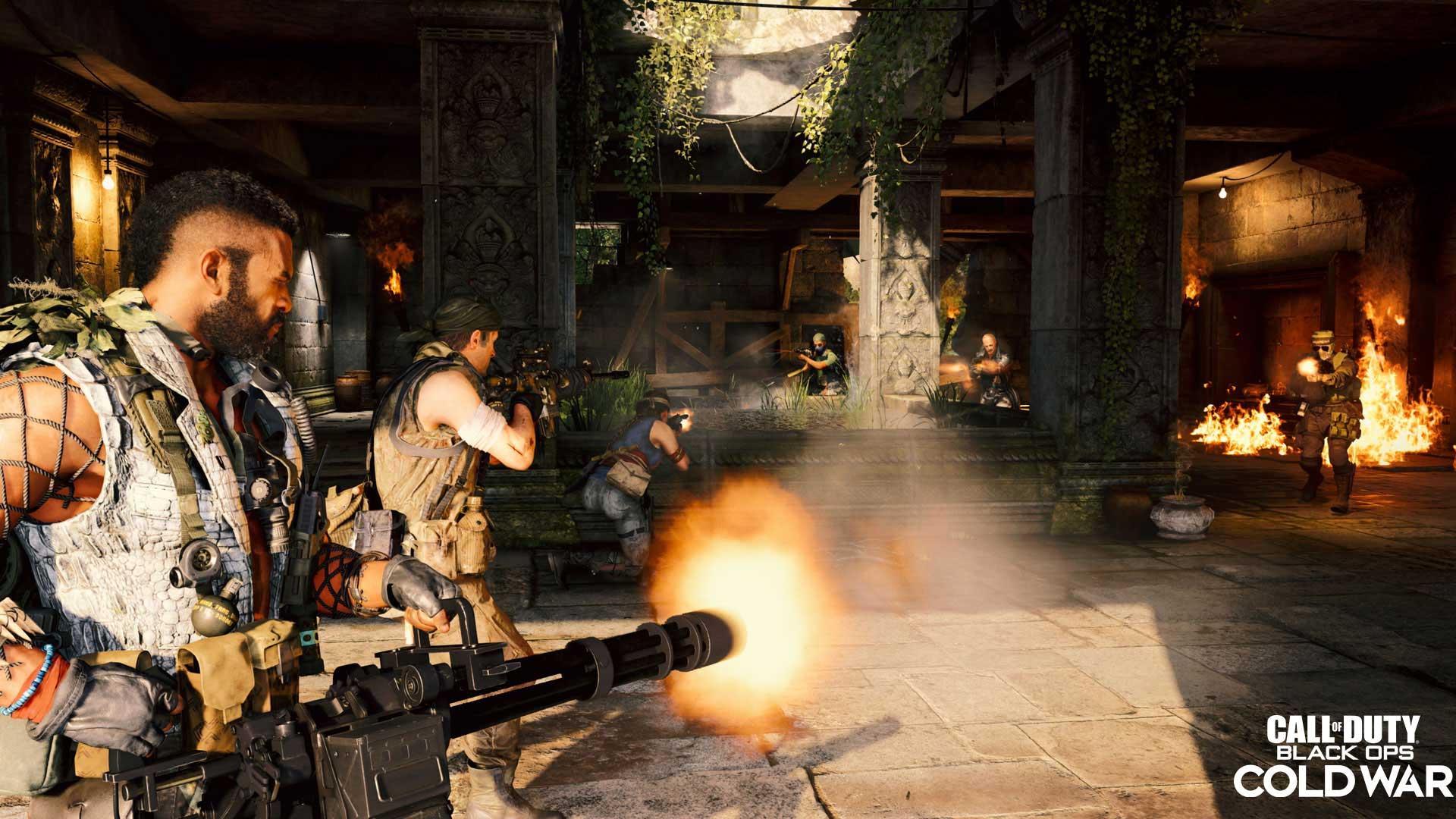 Более 500 Гбайт: на стандартную PS4 больше не получится одновременно установить CoD: Black Ops Cold War, MW и Warzone