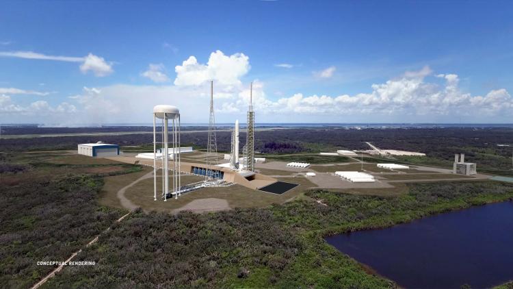 Стартовый комплекс 36 во Флориде (Blue Origin)
