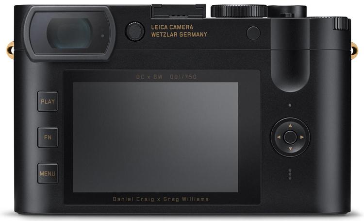 Вышла эксклюзивная камера Leica Q2 Daniel Craig x Greg Williams для поклонников фильмов о Джеймсе Бонде