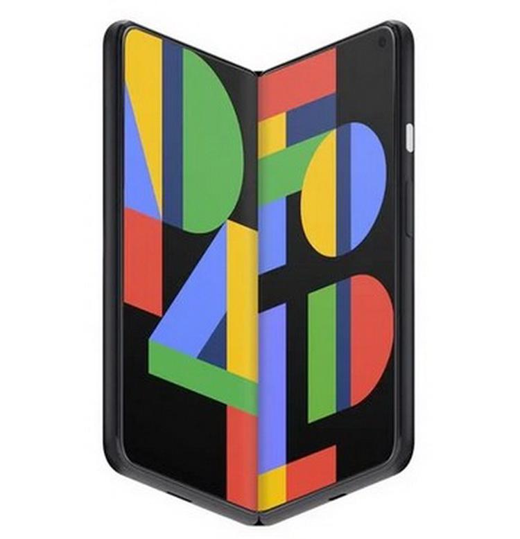 Концепт складного смартфона Google Pixel