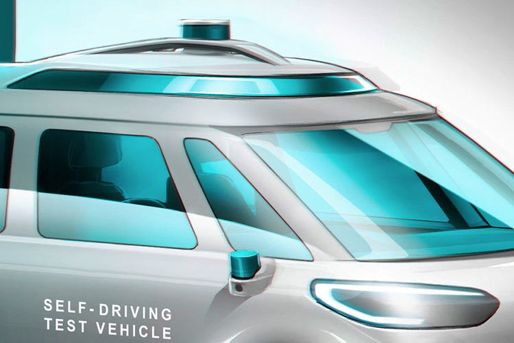 Volkswagen показала, как выглядит робомобиль на базе электрического минивэна ID.Buzz - 3DNews