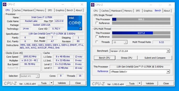 """Первые покупатели Intel Core i7-11700K Rocket Lake-S уже получают процессоры"""""""