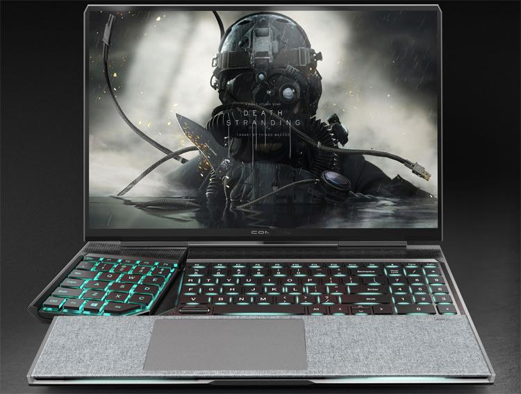 """Compal показала игровой ноутбук Spark с отодвигающимся блоком кнопок"""""""