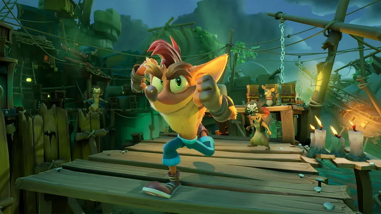Activision уточнила технические особенности Crash Bandicoot 4: Its About Time на PlayStation 5