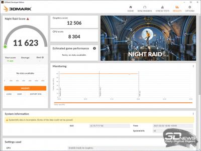3DMark Night Raid (Balanced)
