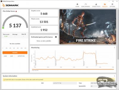 3DMark Fire Strike (Balanced)