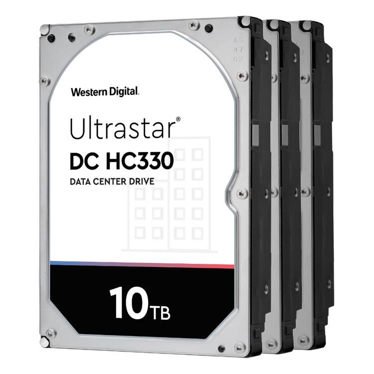 Жесткие диски для ЦОД Ultrastar DC HC330 ёмкостью 10 терабайт