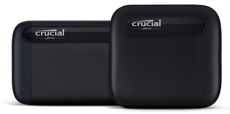 Micron представила внешний твердотельный накопитель Crucial X6 объёмом 4 Тбайт за $490
