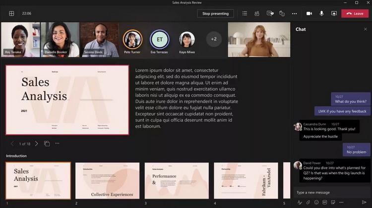 Microsoft Teams получит сквозное шифрование и улучшенные возможности для проведения презентаций
