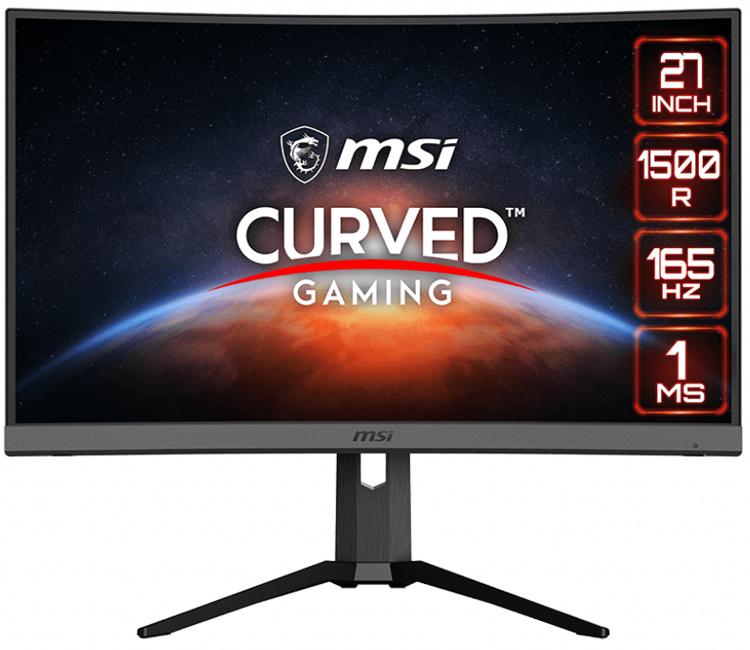 MSI Optix MAG272CQP concave gaming monitor has AMD FreeSync Premium and Night Vision support