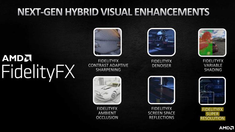 Super Resolution как часть набора технологий визуального улучшения AMD FidelityFX