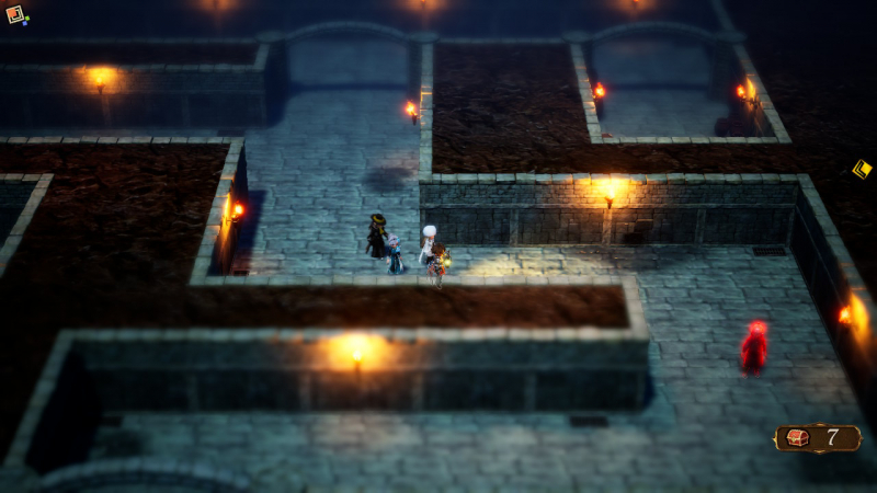 Подземелья игры — запутанные однообразные лабиринты, различающиеся только оформлением стен