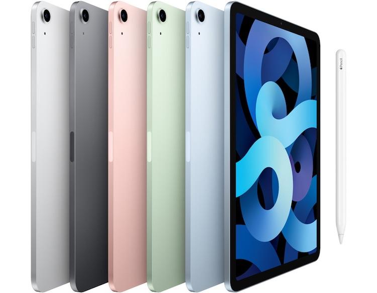 Первым планшетом Apple с OLED-экраном станет 10,9-дюймовый iPad Air