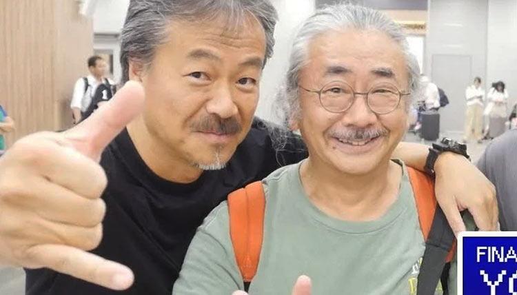 Хиронобу Сакагути и Нобуо Уэмацу в 2018 году (Edamame)