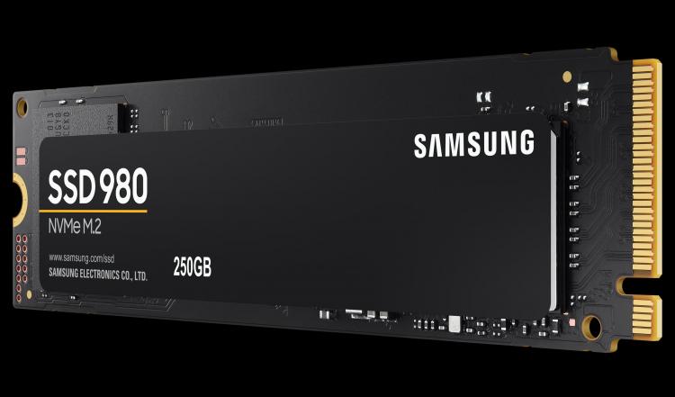 Представлены твердотельные накопители Samsung 980 NVMe — без DRAM, но с высокой скоростью