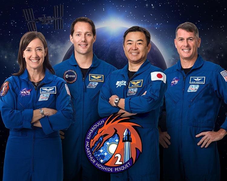 Состав миссии Crew-2 (NASA)